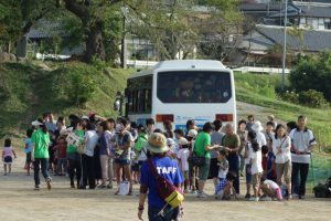 陸前高田に気球イベント