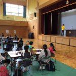 NPO法人 スマイル for Japan|第2回夢作文コンテスト|練習風景